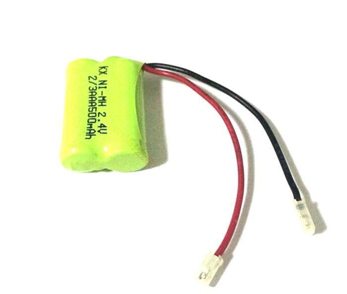 Bateria 2,4v 500mah 2/3aaa Ni-mh