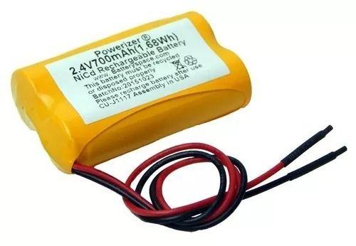 Bateria 2,4v Aa 700mah Ni-cd Com Fio Terminal Recarregável