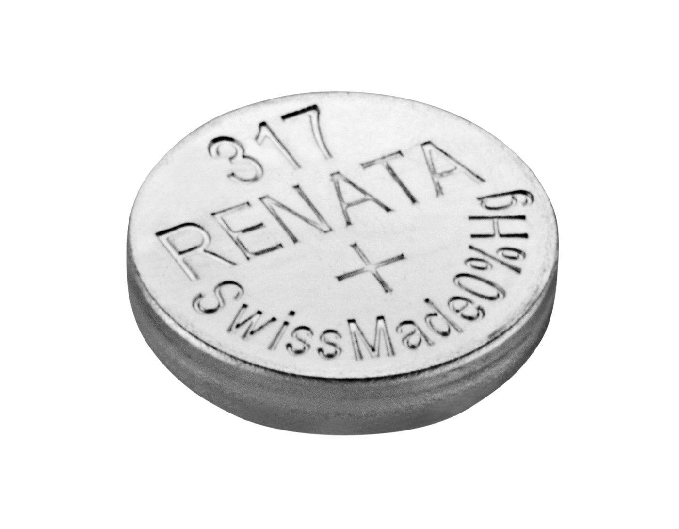 Bateria 317 Relógio 1.55v Renata Sr516s Original