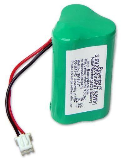 Bateria 3,6v Aa 2200mah Ni-mh Com Conector Recarregável