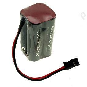 Bateria 4,8v Aa 2550mah Ni-mh Panasonic Eneloop Pro Futaba