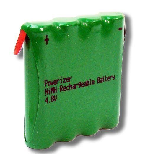 Bateria 4,8v Aaa 1000mah Ni-mh Com 2 Terminal Recarregável