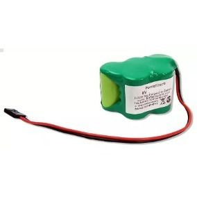 Bateria 6v 2/3a 1200mah Ni-mh Com Conector Futaba
