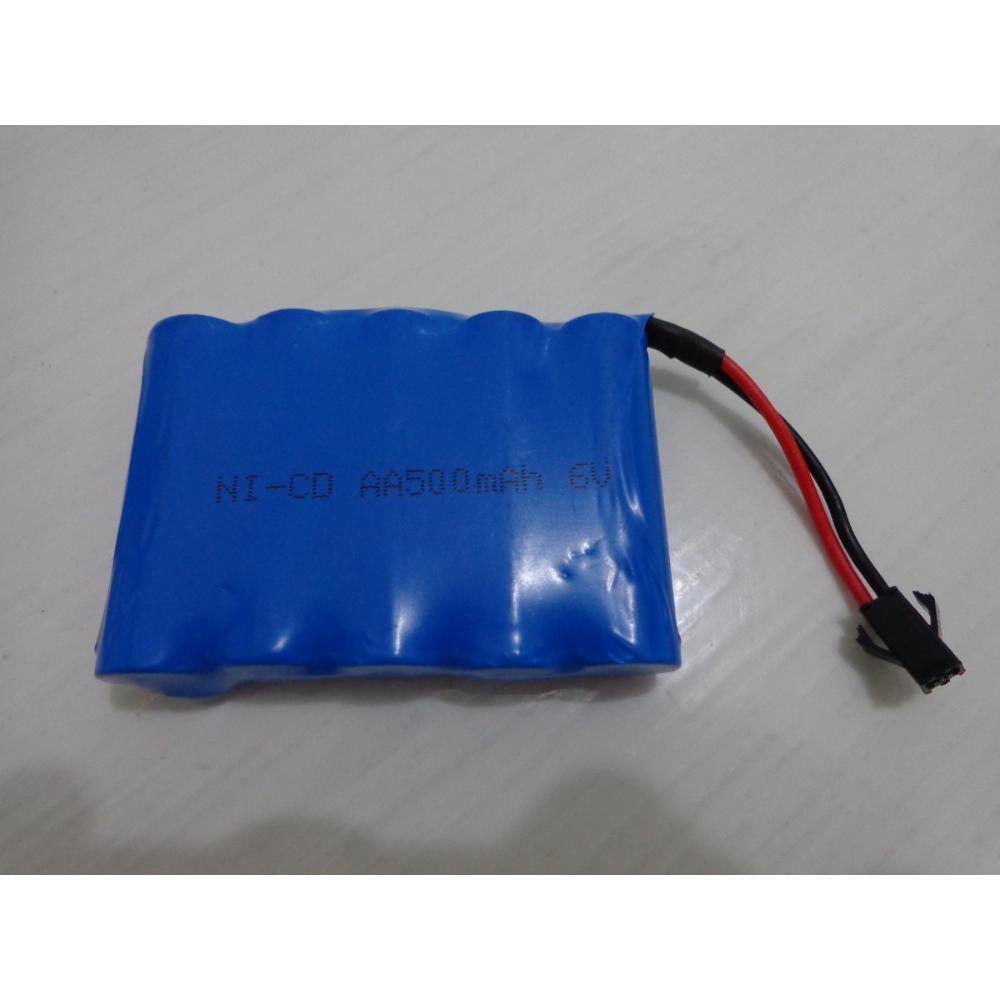 Bateria 6v 500mah Nicd Tamanho Aa