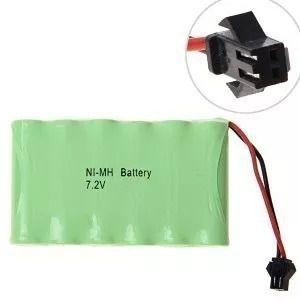 Bateria 7,2v 2700mah Ni-mh Aa Com Carregador Smp02