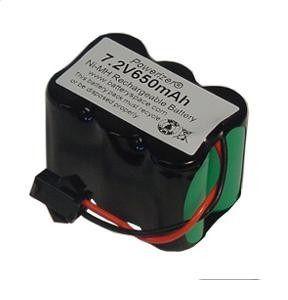 Bateria 7,2v 2/3aa 650mah Ni-mh Com Conector Recarregável
