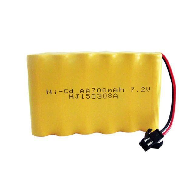 Bateria 7,2v 700mah Ni-cd