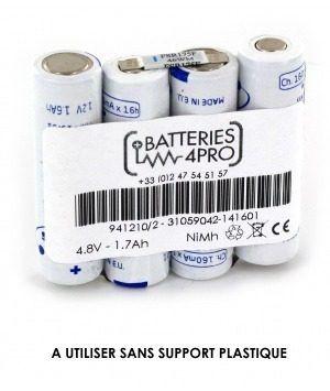 Bateria 941210 4h-aa1500 4,8v Aa 1,7ah Compex Sport Elite