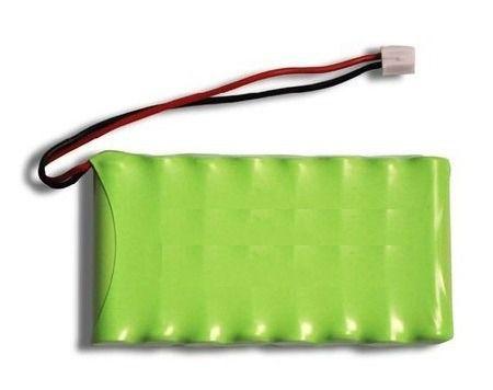 Bateria 9,6v Aaa 800mah Ni-mh Com 8 Células Recarregável