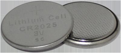 BATERIA BOTAO LITHIUM CELL CR2025 3V LITHIUM