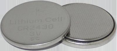 BATERIA BOTAO LITHIUM CELL CR2430 3V LITHIUM