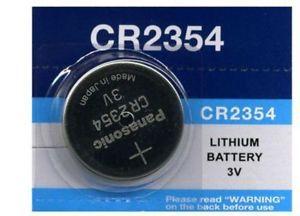 BATERIA BOTAO PANASONIC CR2354 3V LITHIUM