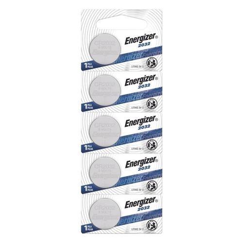 Bateria Cr2032 Tipo Moeda Energizer Cartela C/ 5 Baterias