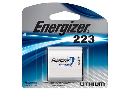 Bateria CR-P2 6V Lithium 223 ENERGIZER / 1 Bateria