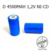 BATERIA ENERGY POWER D 4500MAH 1,2V NI-CD