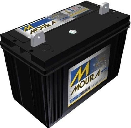Bateria Estacionaria 12v 80ah Moura