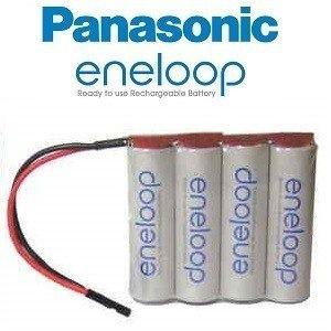 Bateria Futaba 4,8v Aa 2000mah Panasonic Eneloop - Original