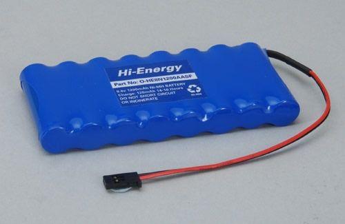 Bateria Futaba 9,6v 1500mah Aa 8 Celulas Ni-mh Conector
