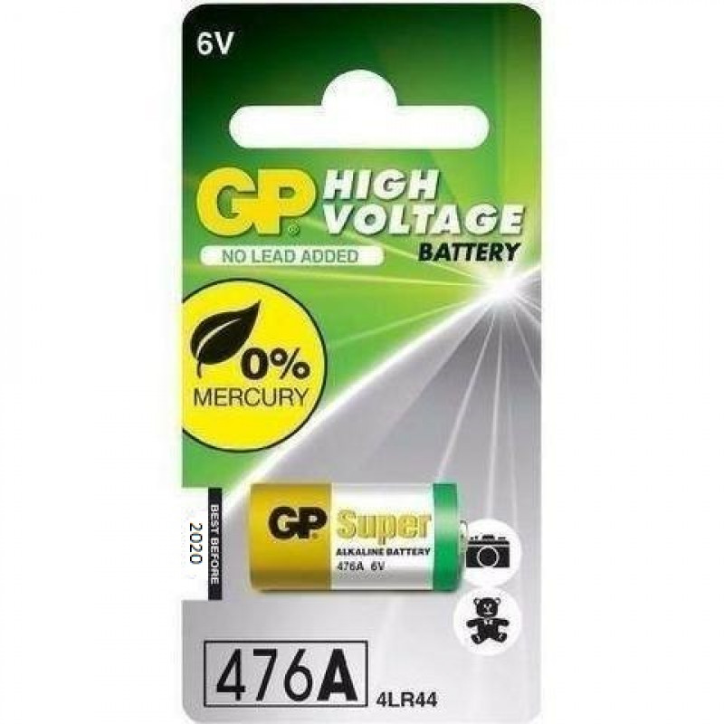 Bateria GP 4LR44 - 476A 6V - Px28a