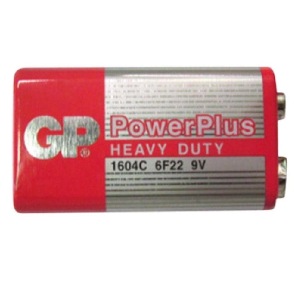 Bateria Gp De 9v Power Plus 6f22m