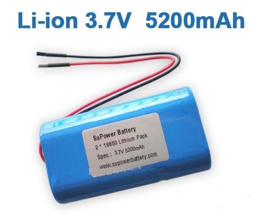 Bateria Li-on 3,7v 5200mah Modelo 18650