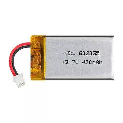 Bateria Li-po 3,7v 400mah - Li-polymer 35mm X 20mm X 6mm