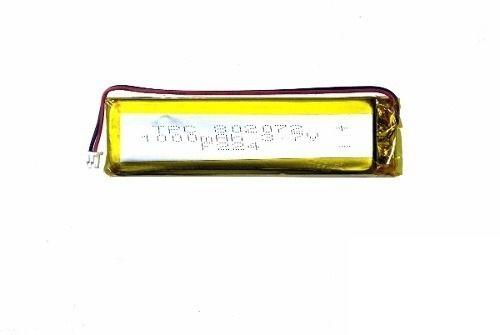 Bateria Lithium Lipo Slim Gps 3,7v 1000mah 802072