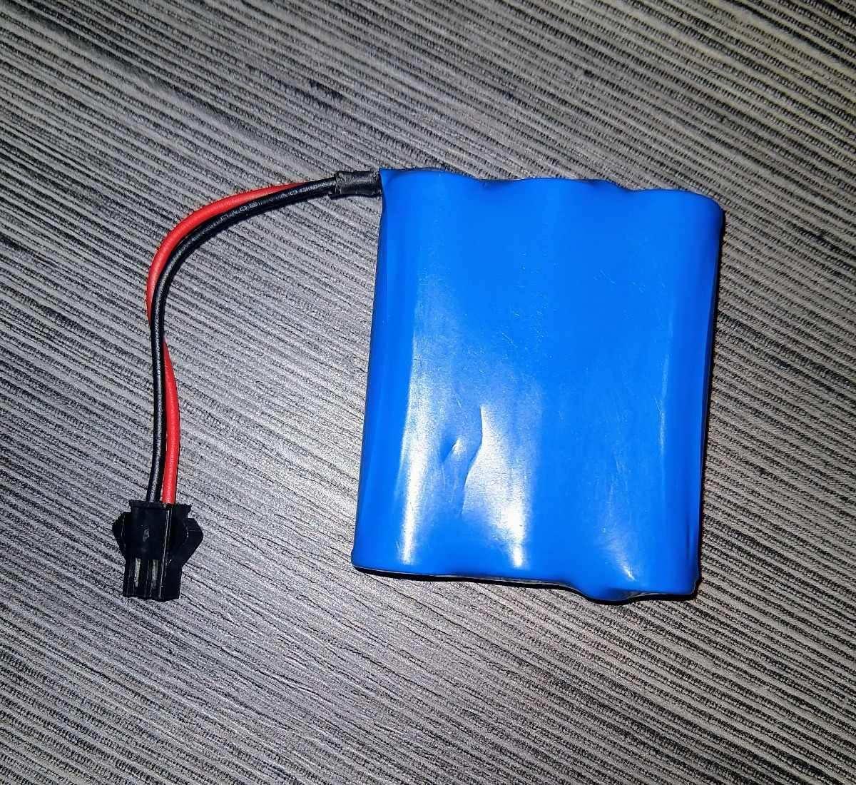 Bateria Ni-cd Aa 500mah 3.6v P/ Carrinhos De Controle Remoto
