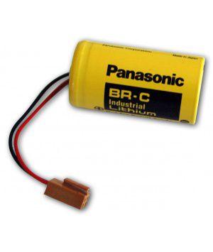 BATERIA PANASONIC BR-CCF1TH 3V LITHIUM BR-C 3V 5000MAH Hammer GE Fanuc A06 Genuine MACHINE CNC,PLC