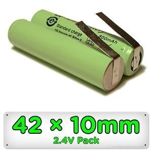 Bateria Para Waterpik 2,4v Aa 1300mah Ni-mh Gp130aahe2b1h