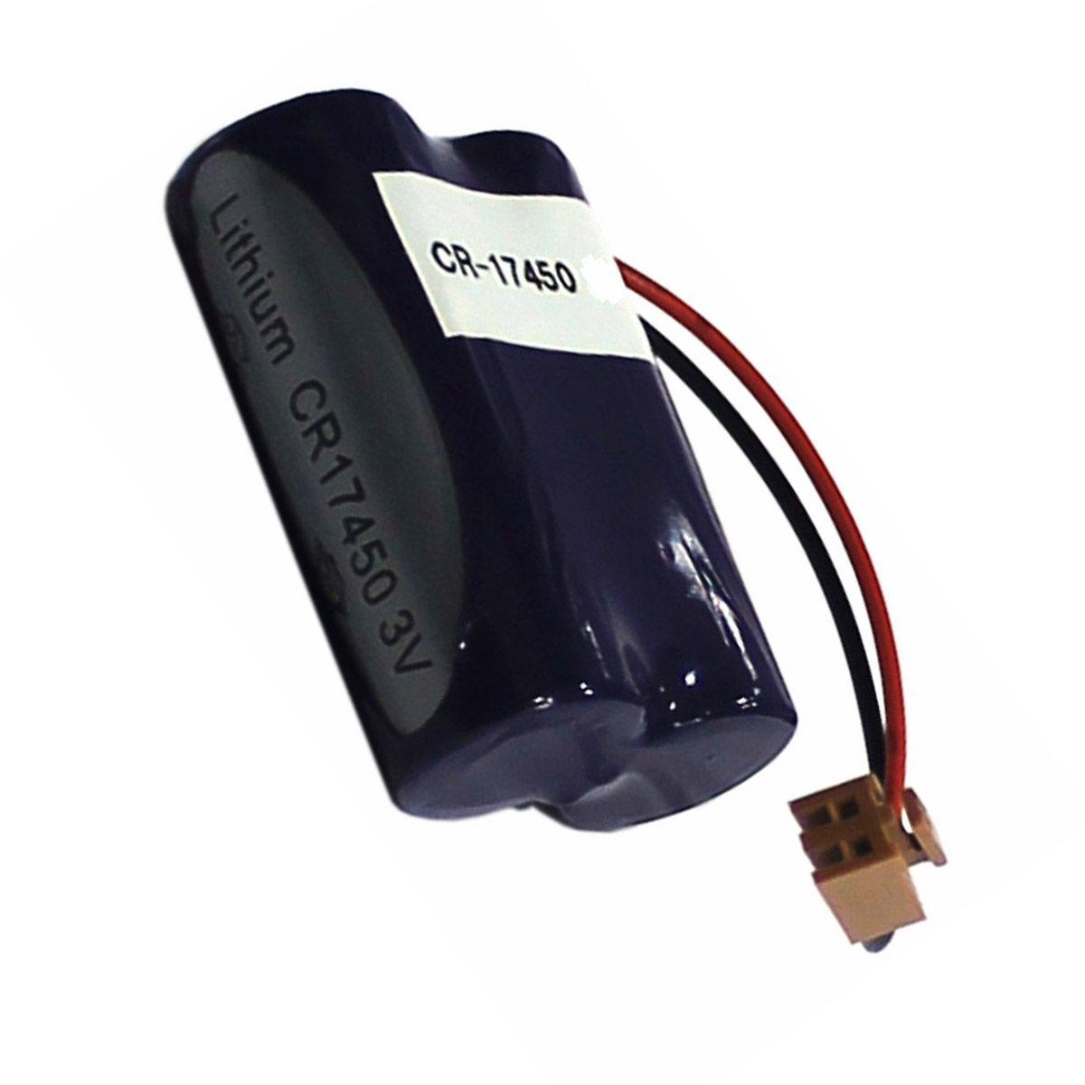 BATERIA PLANET BATTERY CR17450 3V PARALELO LITHIUM 2xCR17450 PLC Lithium Battery