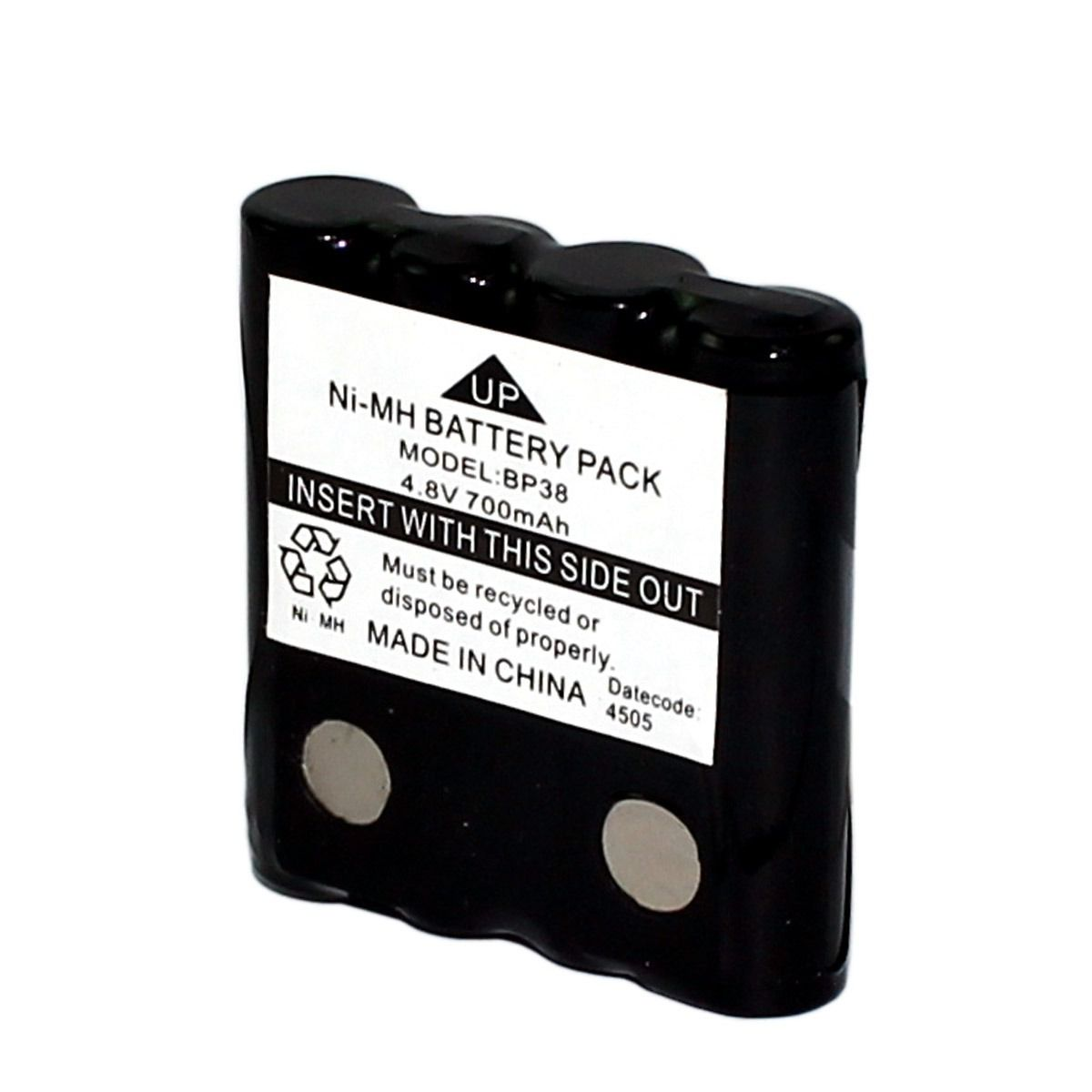 Bateria Radio Motorola Bp38 4,8v 700mah Aaa