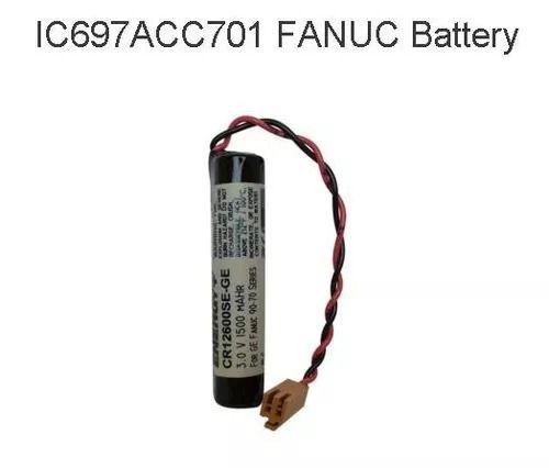 BATERIA SANYO CR12600SE 3V LITHIUM IC697ACC701 FANUC BATTERY