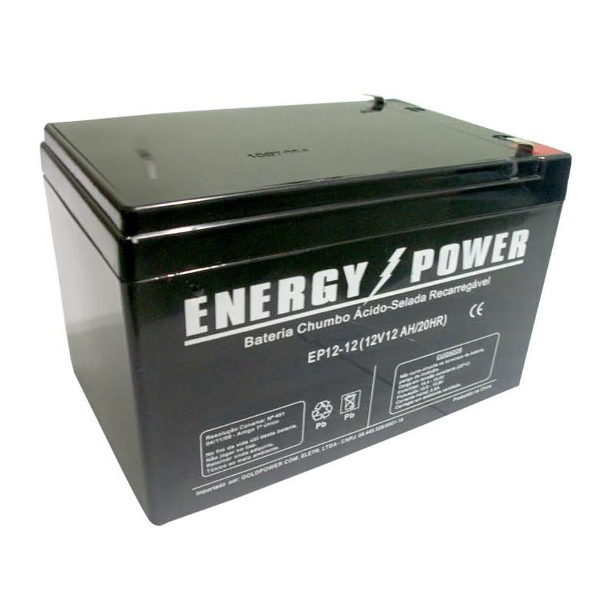 BATERIA SELADA 12V 12AH ENERGY POWER