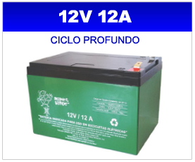 BATERIA SELADA 12v 12AH PLANET BATTERY CICLO PROFUNDO