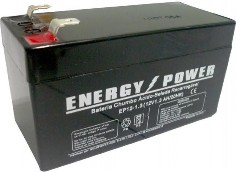 BATERIA SELADA 12v 1,3AH ENERGY POWER