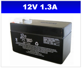 BATERIA SELADA 12V 1,3AH PLANET BATTERY