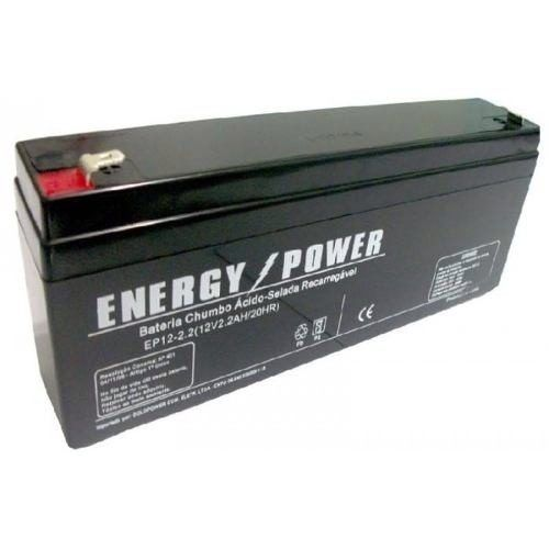BATERIA SELADA 12v 2,2AH ENERGY POWER