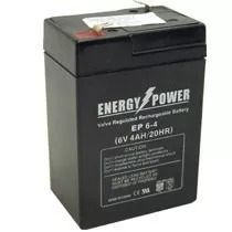 BATERIA SELADA 6V 4AH ENERGY POWER