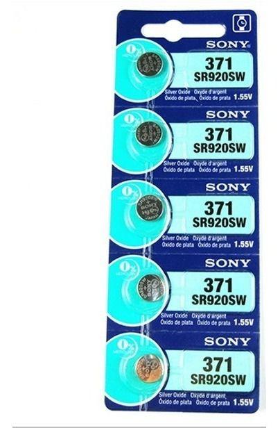 Bateria Sony 371 - Cartela com 5