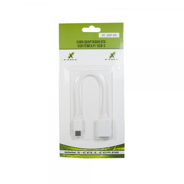 CABO ADAPTADOR OTG USB FEMEA P/ USB-C