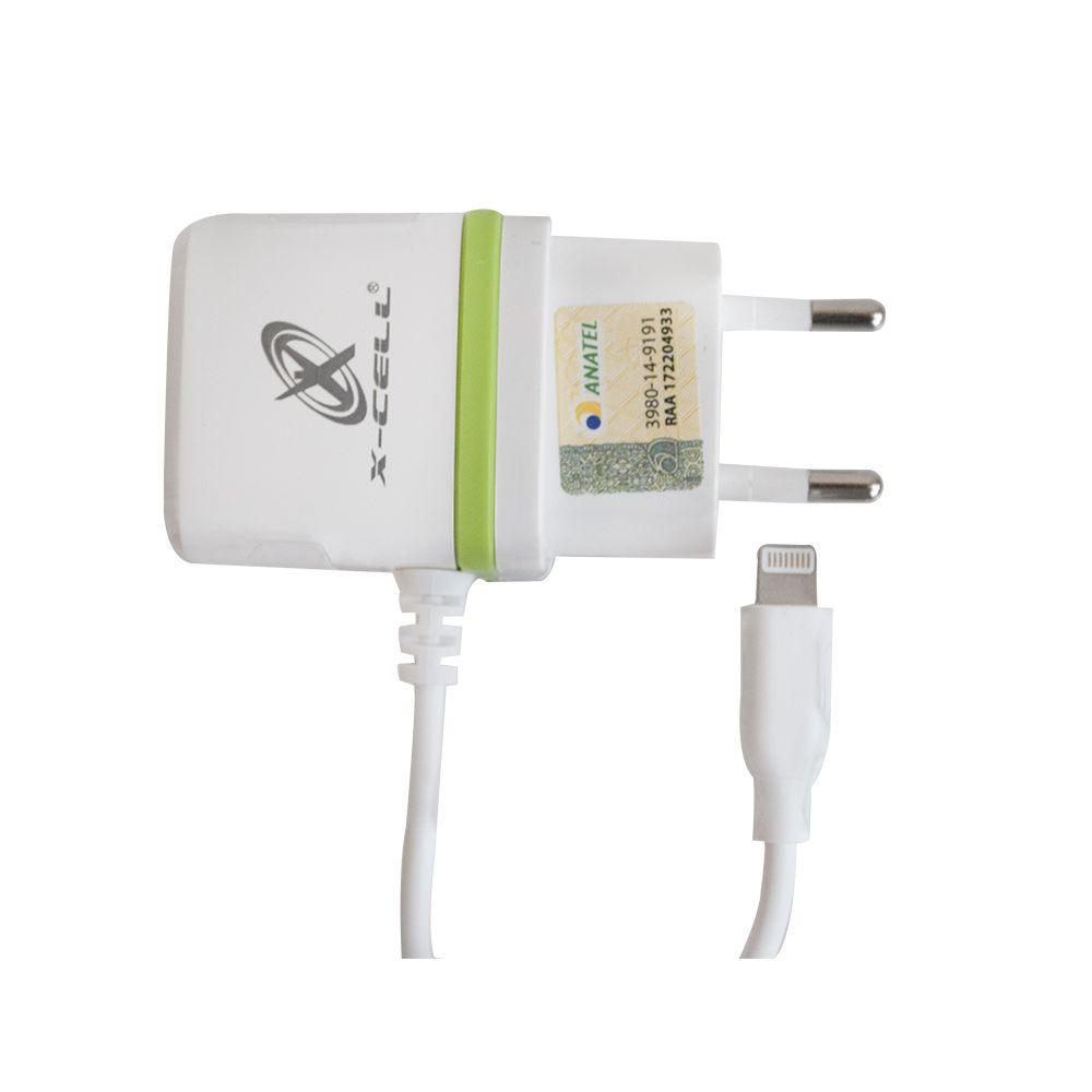CARREGADOR DE CELULAR IPHONE 6 8P 2.5A C/1 ENTRADA USB