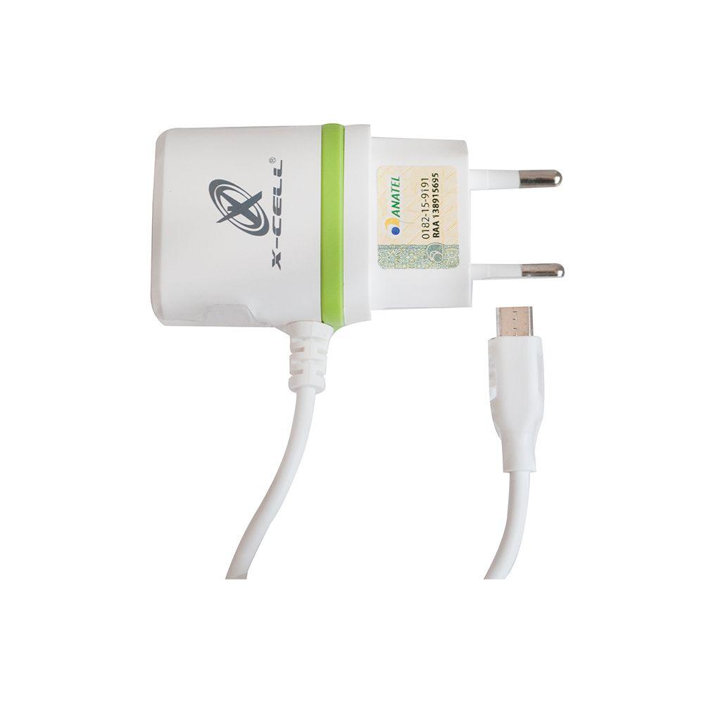 CARREGADOR DE CELULAR V8/MICRO USB COM 1 ENTRADA USB 2.8A