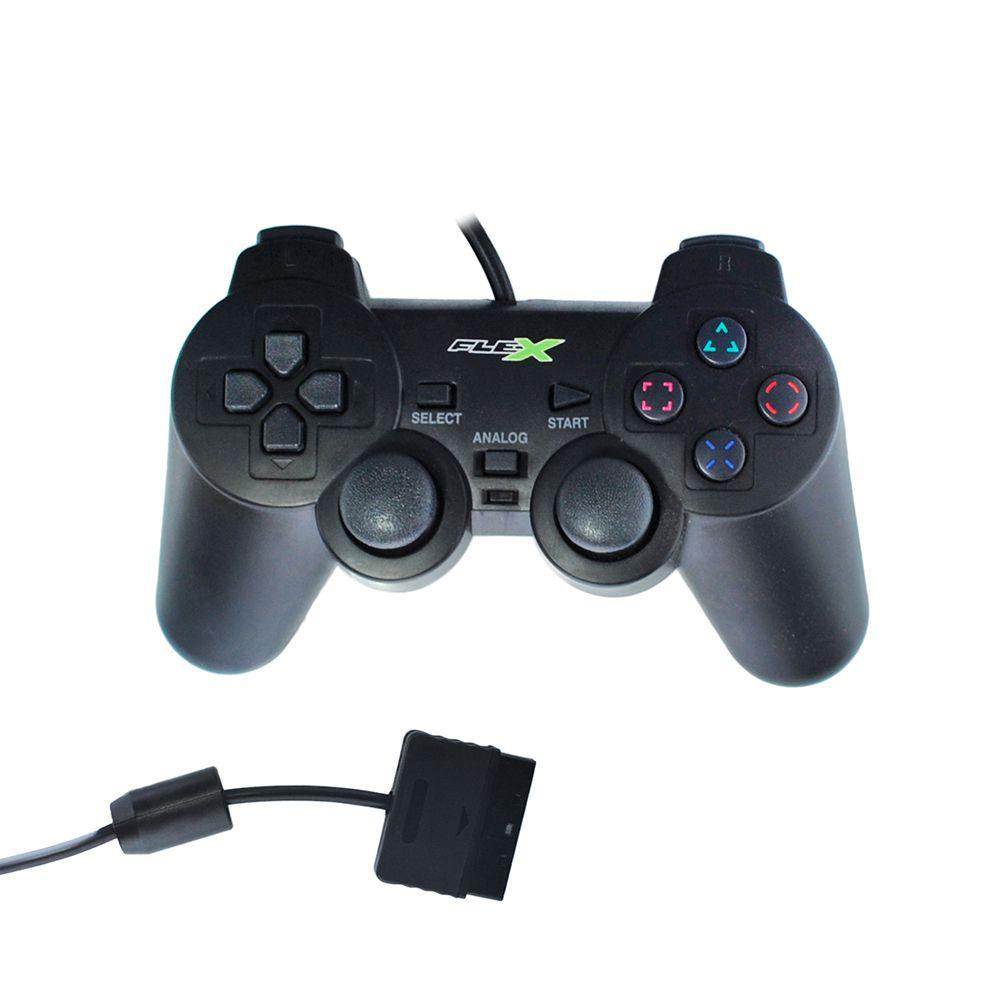 CONTROLE DUALSHOK COMPATIVEL COM PS2