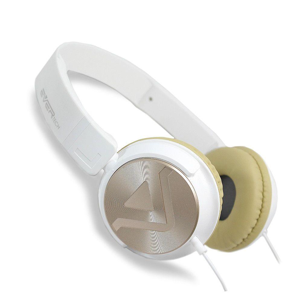 HEADPHONE DJ - CABO P2 + ATENDIMENTO BRANCO E BEGE