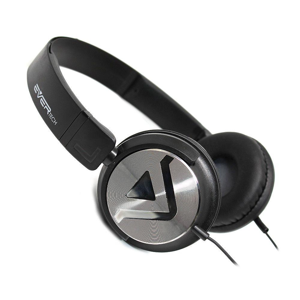 HEADPHONE DJ - CABO P2 + ATENDIMENTO PRETO