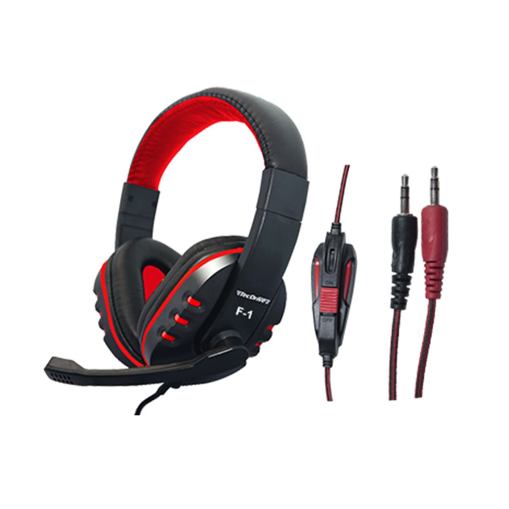 HEADSET GAMER COM CONTROLE DE VOLUME NO CABO HASTE REGULAVEL