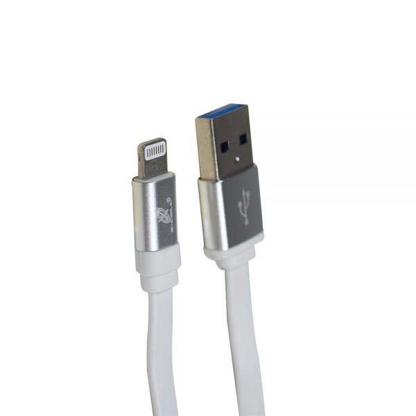 KIT COM 20 CABOS DE DADOS USB TIPO LAT MOD. LIGHTNING 8P 1,2M
