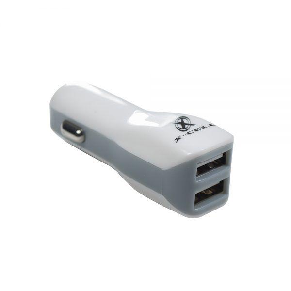 KIT COM 20 CARREGADORES VEICULARES COM 2 PORTAS USB 2.0A