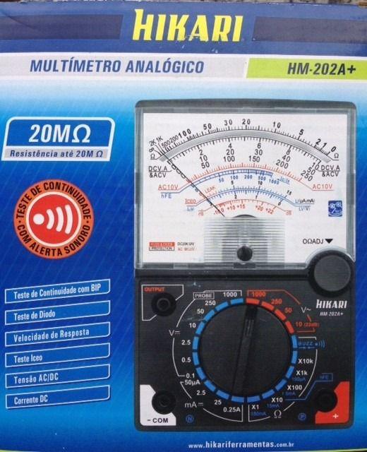 MULTIMETRO ANALOGICO HIKARI HM-202A+